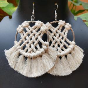 criss cmacrame earrings